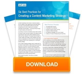 Creating a Content Marketing Strategy Whitepaper