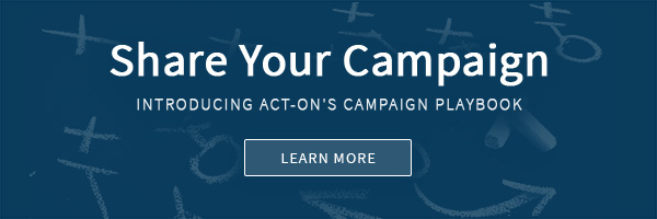 Share your campaign! Introducing Act-On's Campaign Playbook