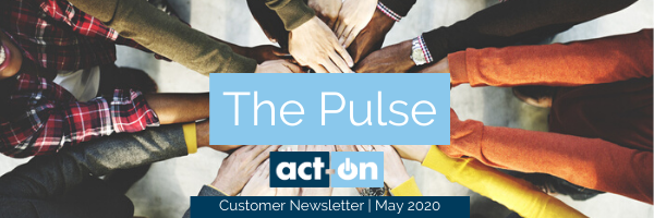 Act-On Customer Newsletter May 2020