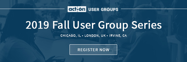 Act-On User Group 2019 Fall Series - Register now